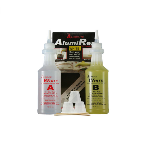 Alumilite Amazing Opaque White Casting Resin - 940ml / 32 fl. oz.