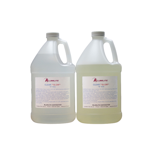 Alumilite CLEAR (SLOW) Resin - Large -16lbs / 7.26kg