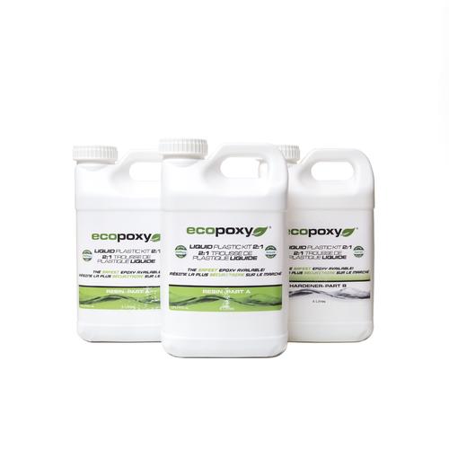 Ecopoxy Liquid Plastic 2:1 - 12 Litres (12.9kg)