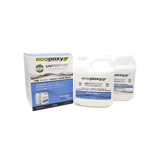 Ecopoxy UVPoxy - 4 Litres (4.3kg)