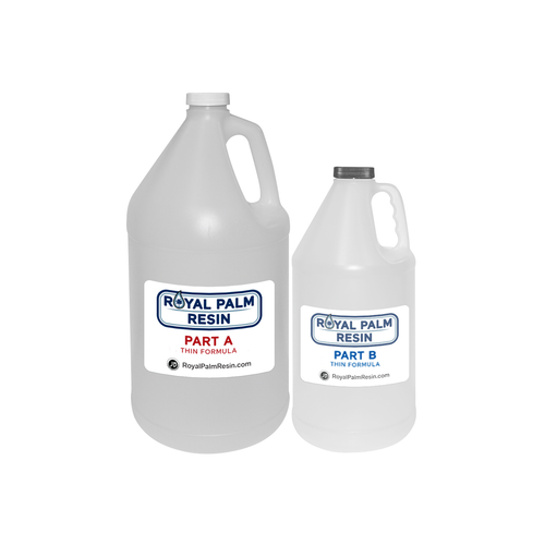 Royal Palm Epoxy Resin (Thin) - 5.68l / 192 fl. oz (1.5 US gallons)