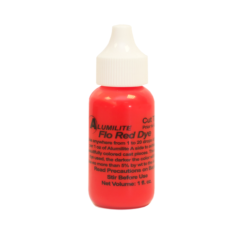 Alumilite Dye Fluorescent Red 29.6ml (1fl.oz)
