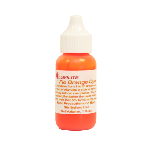 Alumilite Dye Fluorescent Orange 29.6ml (1fl.oz)