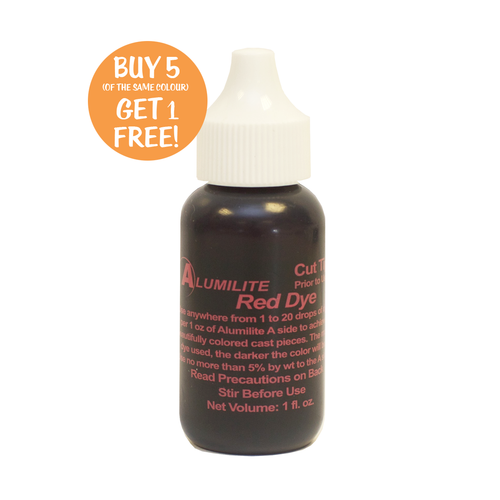 Alumilite Dye Red 29.6ml (1fl.oz)