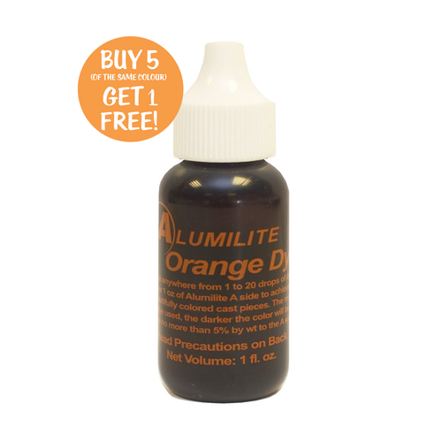 Alumilite Dye Orange 29.6ml (1fl.oz)