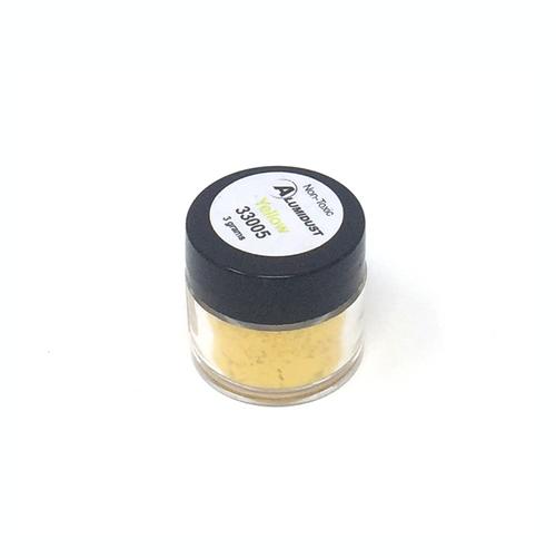Colouring Alumidust Powder - Yellow - 3gm