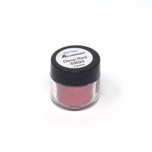 Colouring Alumidust Powder - Deep Red - 3gm
