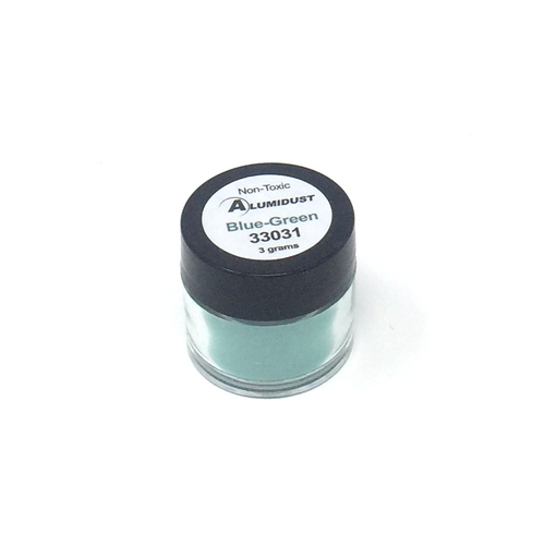 Colouring Alumidust Powder - Blue/Green - 3gm
