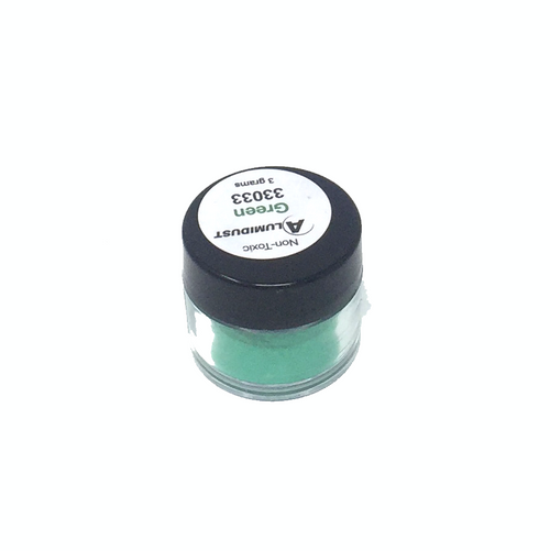 Colouring Alumidust Powder - Green - 3gm