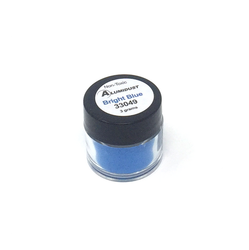 Colouring Alumidust Powder - Bright Blue - 3gm