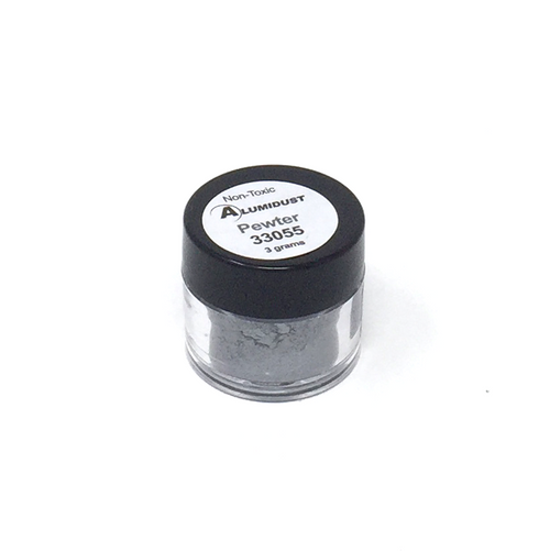 Colouring Alumidust Powder - Pewter - 3gm