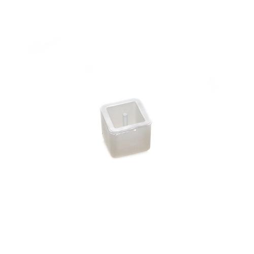 Silicone Resin Mould - Bead Square - Medium