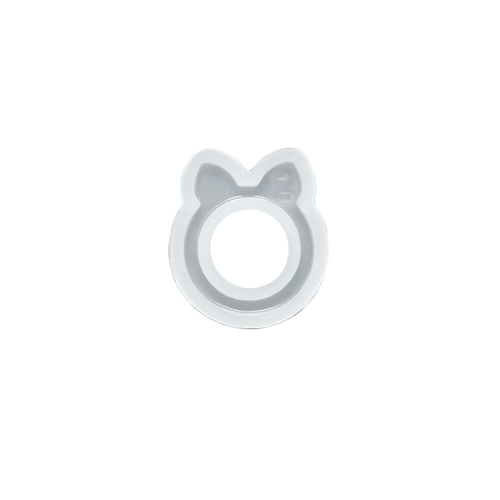 Silicone Resin Mould - Cat Ears Ring - Large