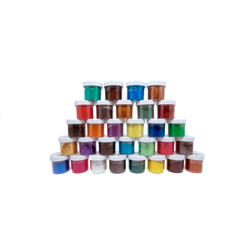 Caster's Choice Mica Powders - A Complete Set (30 colours)