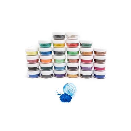 Caster's Choice Mica Powders - SAMPLE SET of all 30 colours