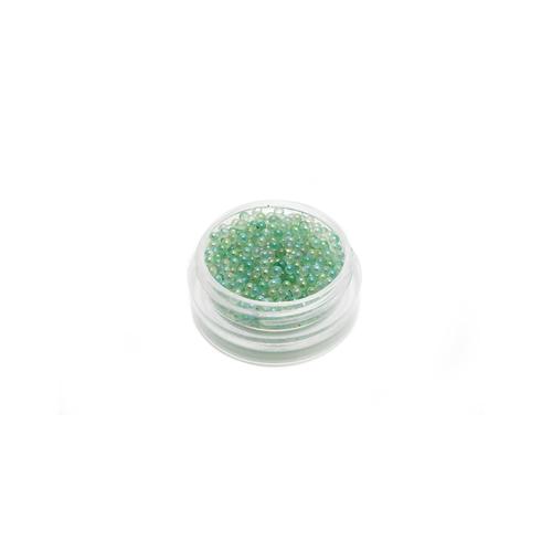 Mini Glass Spheres - Green, 6g