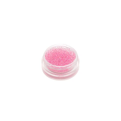 Mini Glass Spheres - Pink, 6g
