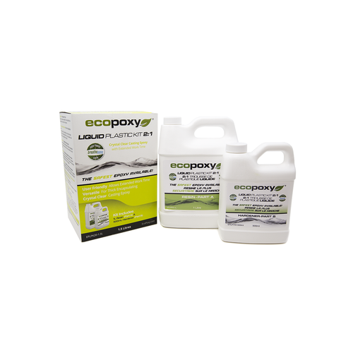 Ecopoxy Liquid Plastic 2:1 1.5l