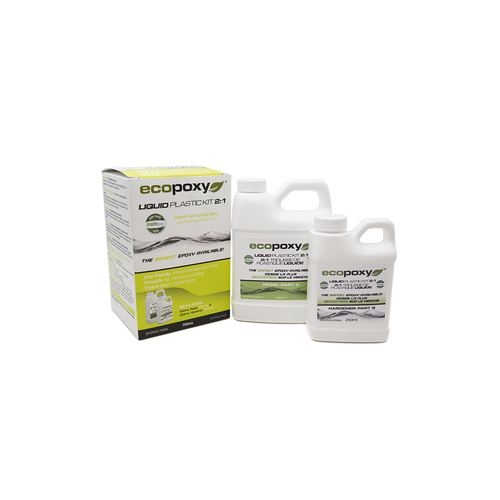 Ecopoxy Liquid Plastic 2:1 750ml
