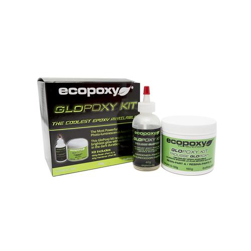 Ecopoxy Glow in the dark pigment. Glopoxy Green.