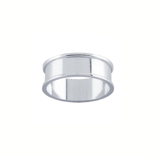 Ring Core 6mm Wide - Channel - Silver