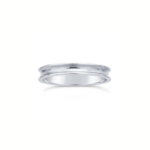 Ring Core 3.2mm Wide - 1.9mm Channel - Silver