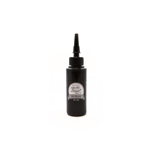 UV Colour Art Resin - Opaque Off Black