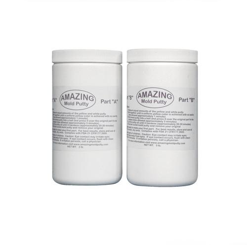 Amazing Mold Putty Moulding Compound - XLARGE 6lb Kit