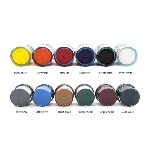 Divine Island Pigments colours