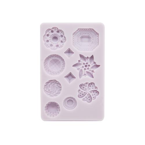 Cernit Silicone Mould Diamond Shapes