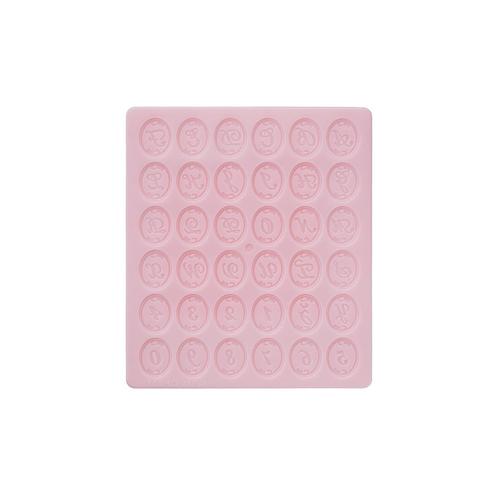 Padico Oval Frame Alphabet