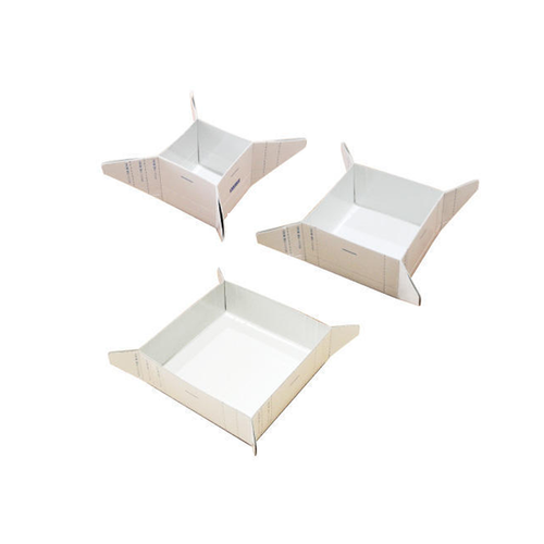 Make boxes in three sizes.