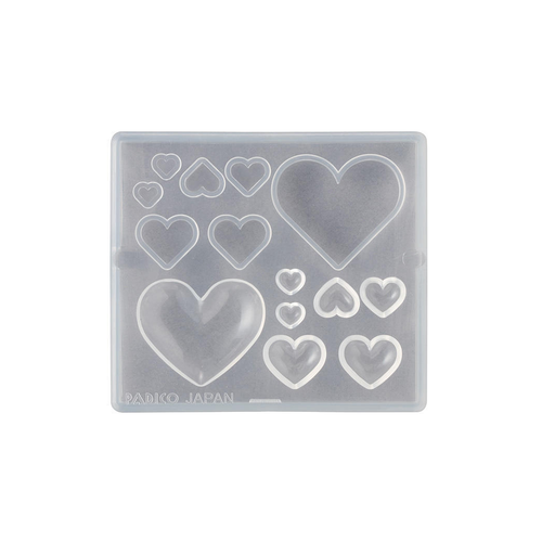 Padico Resin Mold - Hearts