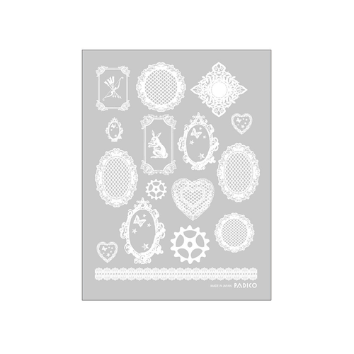 Padico Lace Decals for Resin
