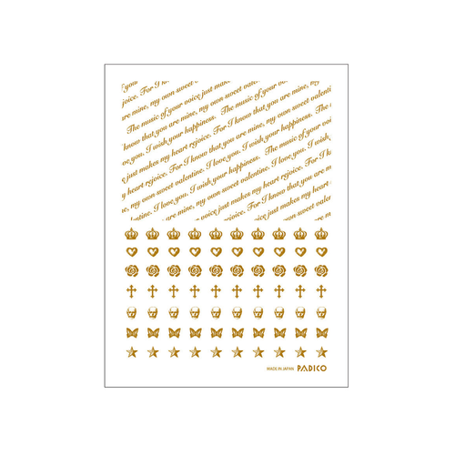 Padico Gold Decals for Resin