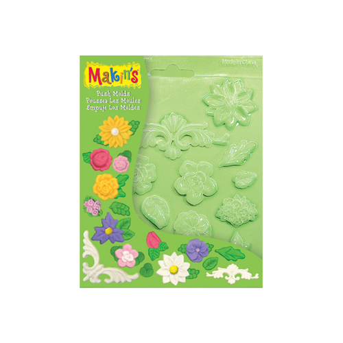 Makins Push Mold Floral