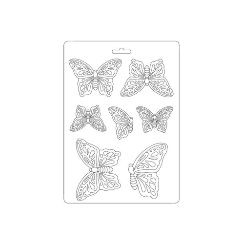 Stamperia Soft Plastic Mould - Butterflies