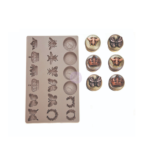 """Re•Design Decor Mould by Prima - Regal Findings 5x8"""" With examples"""