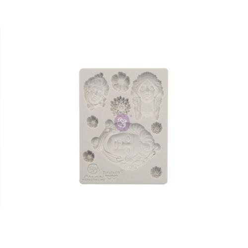 """Finnabair Mould by Prima - Imaginarium Art Nouveau 3.5x4.5"""""""