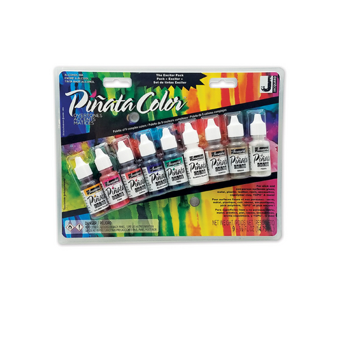 Piñata Alcohol Ink - Overtones Exciter Pack of 9