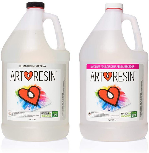 2 Gallon ArtResin (1 gal resin and 1 gal hardener)