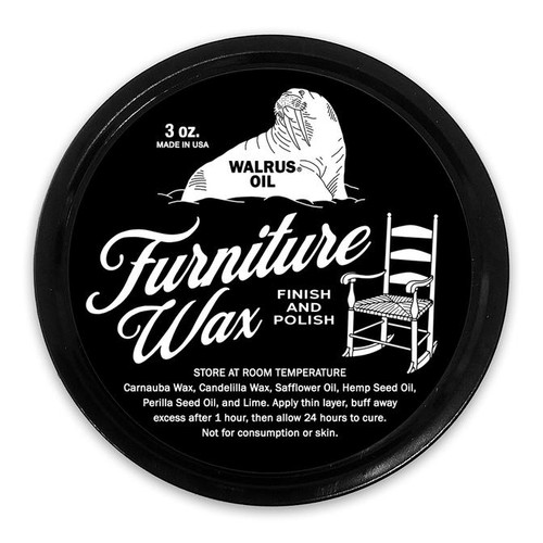 Walrus Furniture Wax Finish and Polish 3 oz