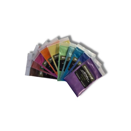 Ecopoxy Metallic Colour Pigments - Set 1