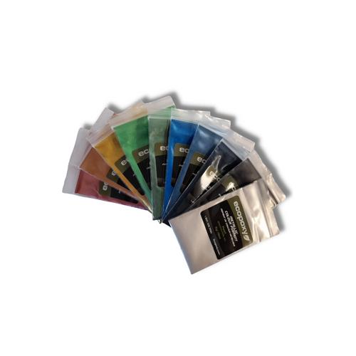 Ecopoxy Metallic Colour Pigments - Sample Set 2