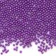 Glass Microbeads - Opaque Purple - 1mm - 15g