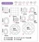 Dimensions of diamond-cut shapes