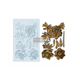 """Re•Design Decor Mould by Prima - Wilderness Rose 5x8"""" With examples"""