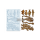 """Re•Design Decor Mould by Prima - Coral Reef 5x8"""" With examples"""