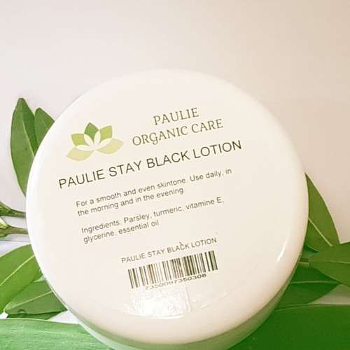 Paulie Stay Black Lotion (8,5 oz) 250 ml