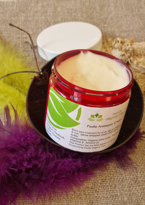 Black Spot Treatment for Arms, Legs and Thighs. Creams For Legs and thighs are available now at    https://paulieorganiccare.se/paulie-antiseptic-cream-200ml/  Shop Creams For Legs and thighs find the best fit for your beauty routine. ... A rich, dense whipped cream with organic shea butter. Compositions: Shea Butter, Tea Tree oil, Vitamin E, Almond oil
